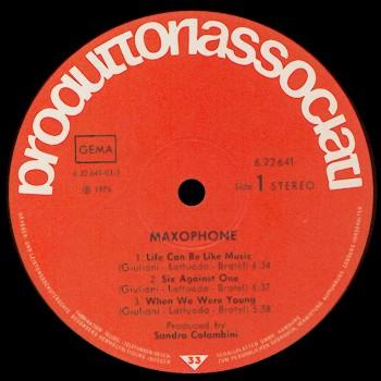 Maxophone Il Fischio Del Vapore